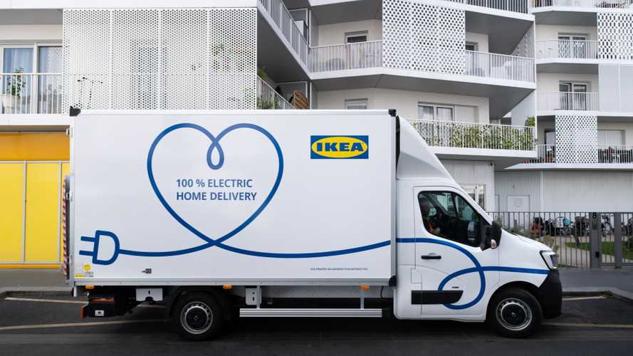 IKEA Testing Renault And MAN EVs