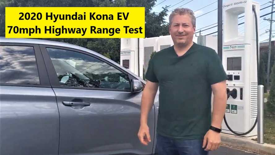 2020 Hyundai Kona Electric Highway Range Test At 70 MPH: Part Two