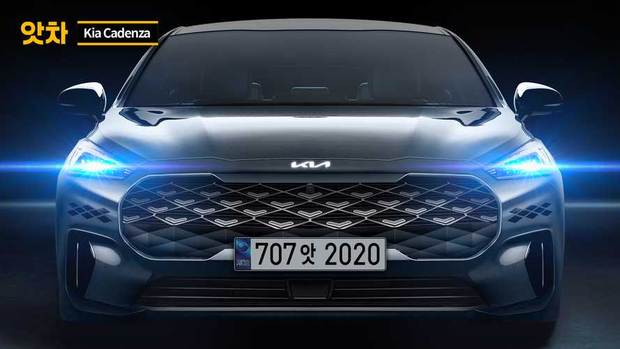 Next-Gen Kia Cadenza Rendered With Big Grille, New Logo