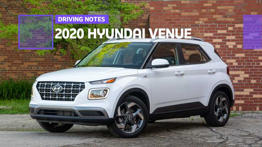 2020 Hyundai Venue SEL Driving Notes: Simple And Sweet