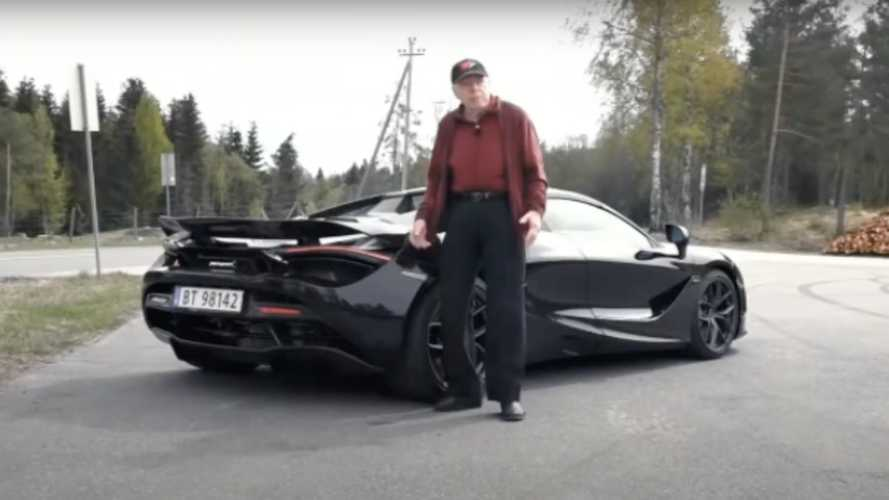 78-Year-Old Buys And Drives A McLaren 720S Spider