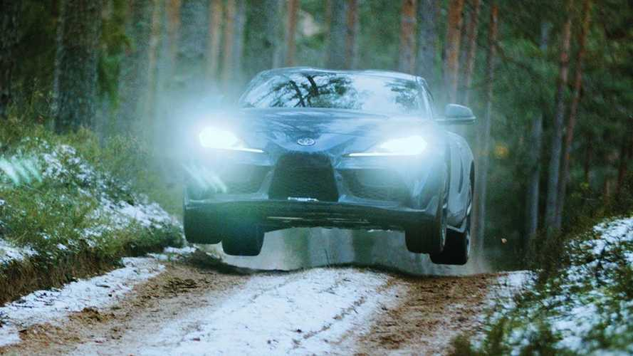 Sin controles y a lo loco: este Toyota Supra se va de tramo (vídeo)