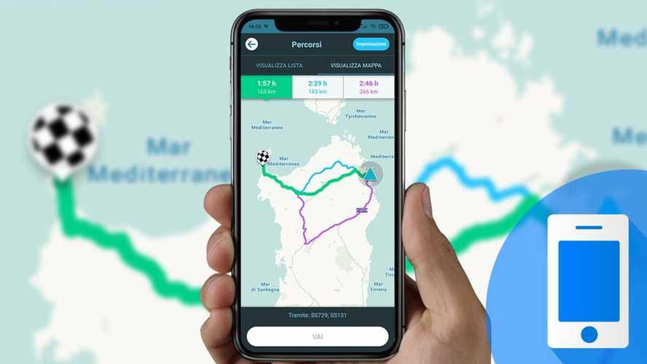 Smartphone App Viaggi in auto