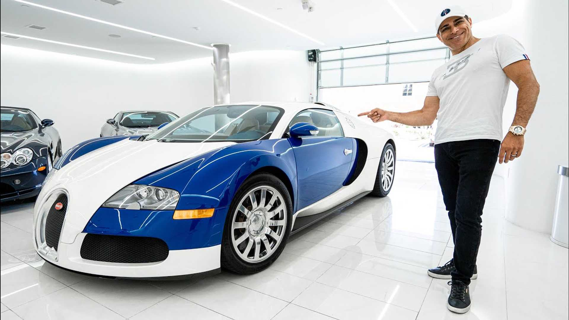 Three Time Bugatti Owner Shows Off His Fourth One