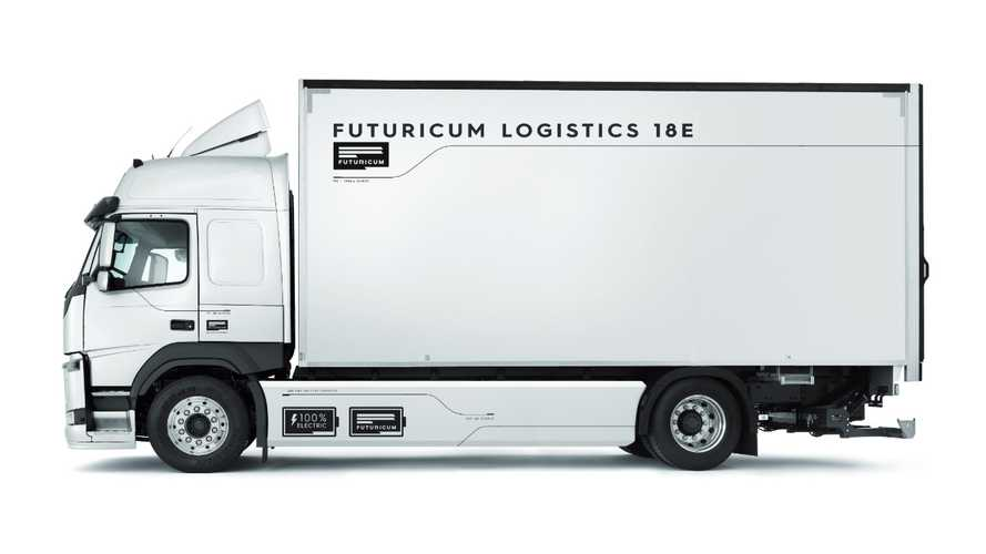 Designwerk Products: Futuricum Logistics 18E electric truck