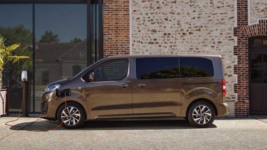 Esta é a nova Citroën ë-Spacetourer, van elétrica com 9 lugares