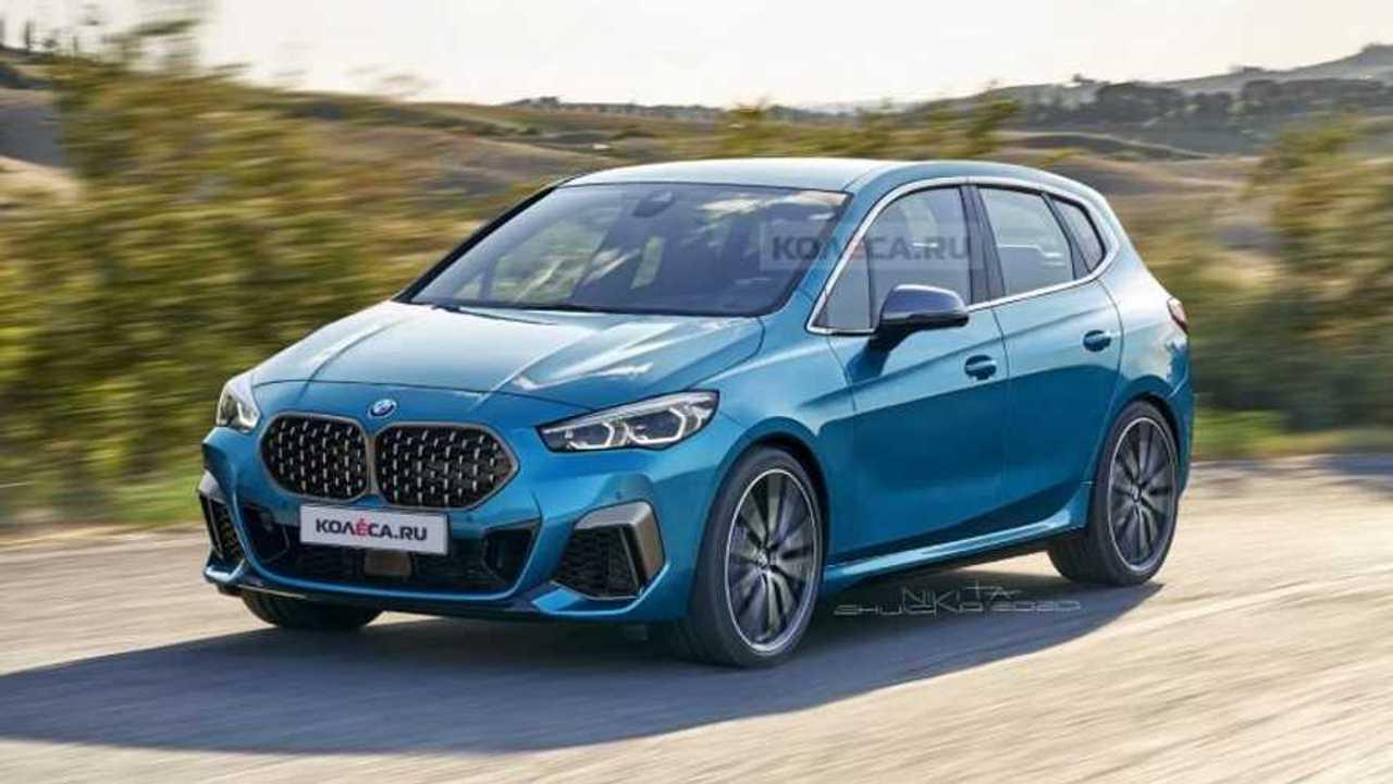 BMW Serie 2 Active Tourer 2021, render