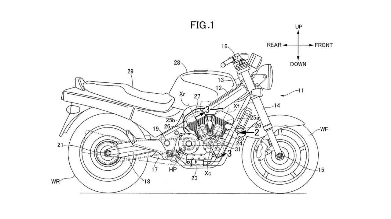 Honda V-Twin Patent