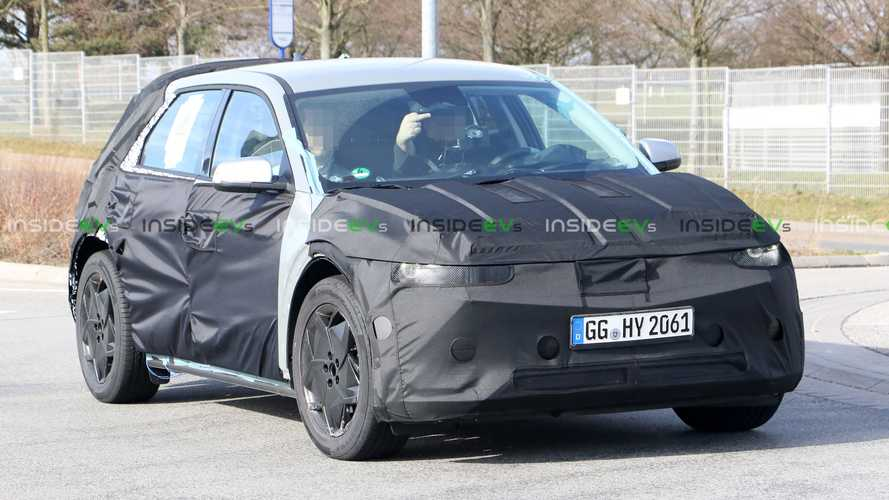 Hyundai 45 Electric Crossover Spotted During Testing