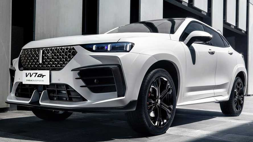 Wey VV7 GT Debuts As Brabus-Tuned, China-Only Sporty Crossover