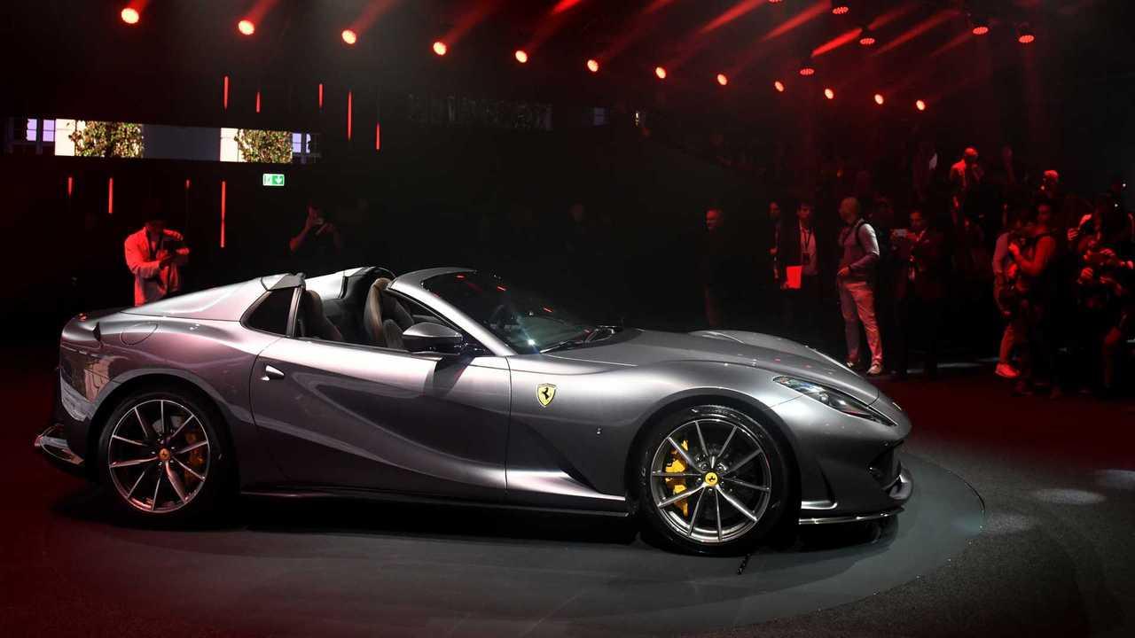 Ferrari Launches
