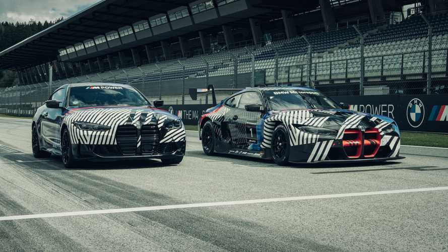 Does the BMW M4's huge grille look any better on the GT3 race car?