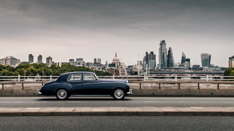 This is the world's first electric classic Rolls-Royce