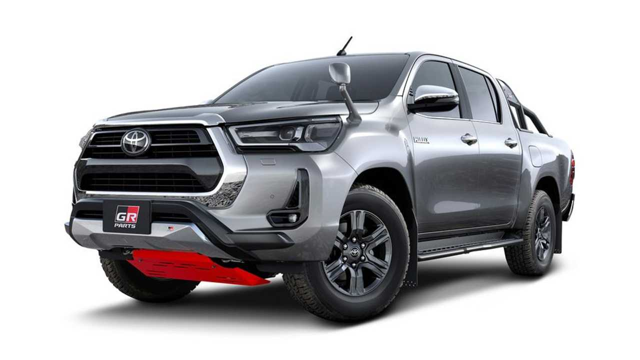 Toyota Hilux 2021 - Gazoo Racing Parts