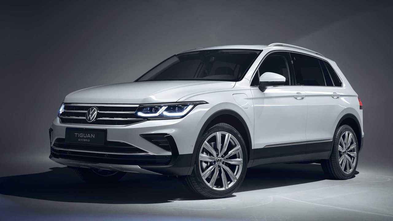 VW Tiguan eHybrid (ab Ende 2020)