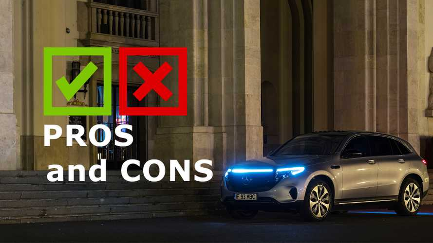 2020 Mercedes-Benz EQC400: Pros And Cons