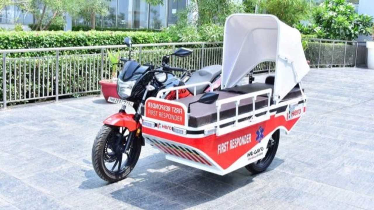 Take A Look At This Hero Xtreme 200R First Responder Ambulance