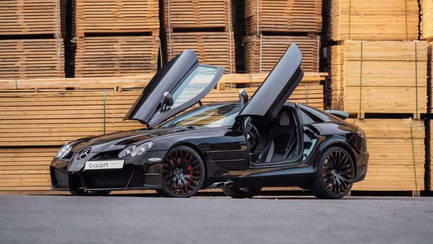 Mercedes-Benz SLR McLaren de Mansory: el batmóvil de las preparaciones