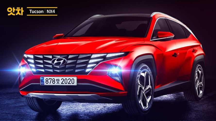 2021 Hyundai Tucson bir coupe SUV olsa nasıl görünürdü?