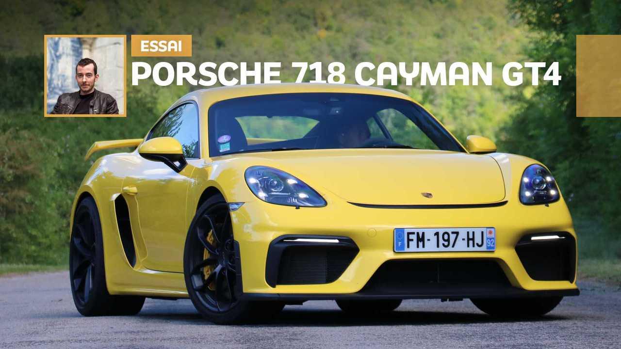Essai Porsche 718 Cayman GT4