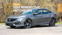 2020 honda civic hatchback sport touring review