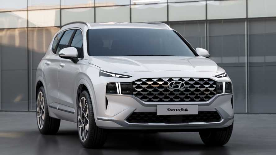 2021 Hyundai Santa Fe Detailed For Europe, Gets PHEV With 265 HP
