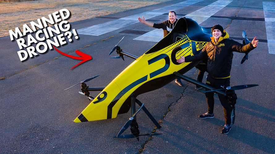 The World's First Manned Aerobatic Racing Drone Is Really Impressive