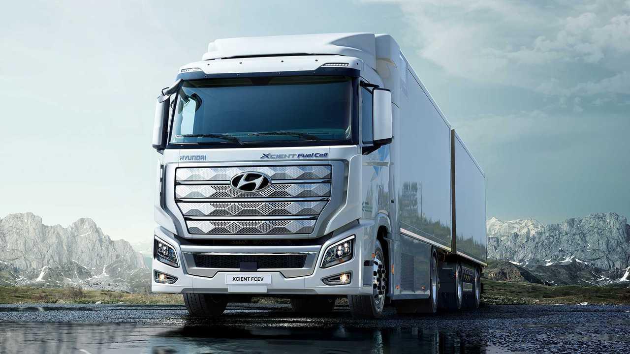 Hyundai Xcient üzemanyagcella