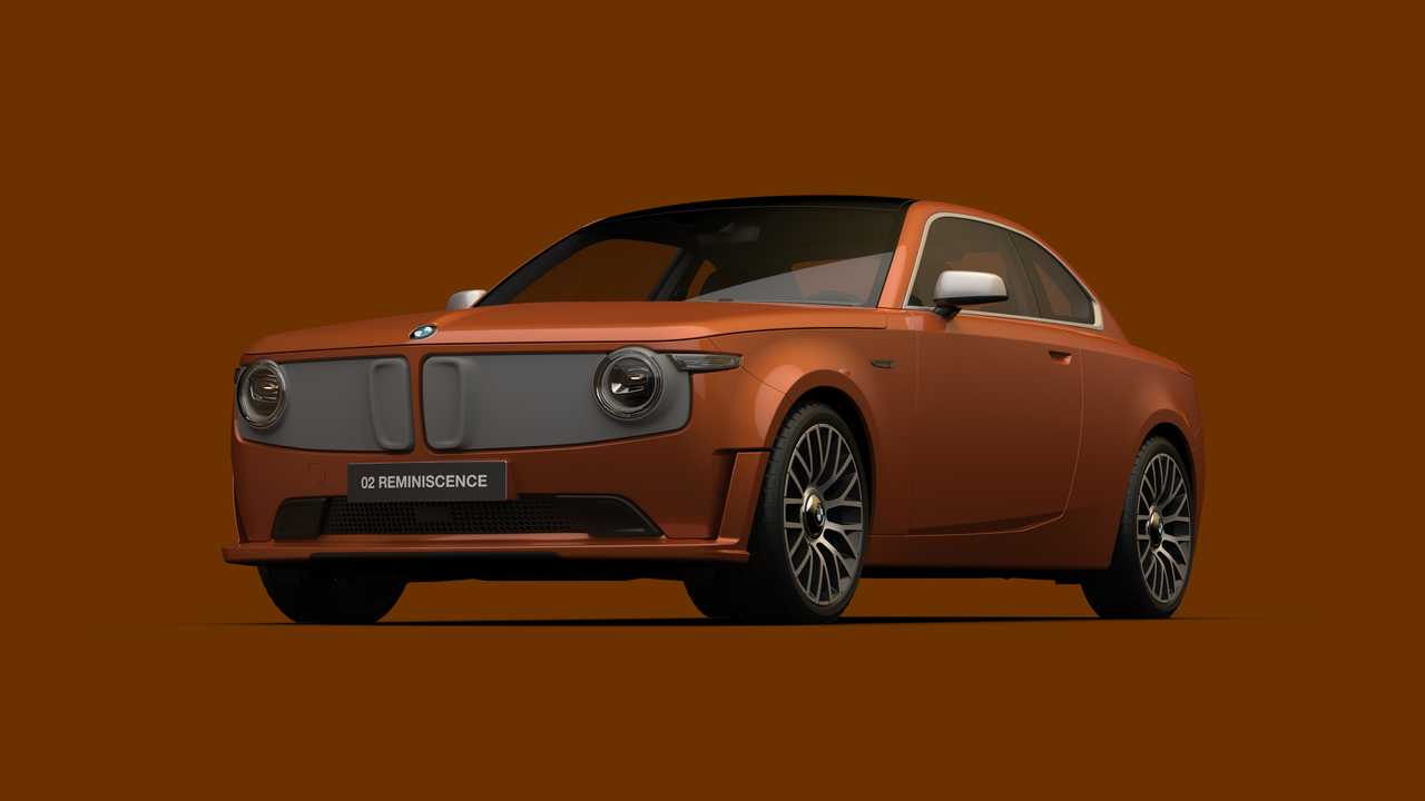 Rendering BMW 02 Reminiscence Concept