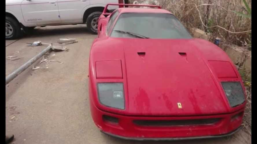 Join The Hunt For Saddam Hussein's Son's Abandoned Ferrari F40