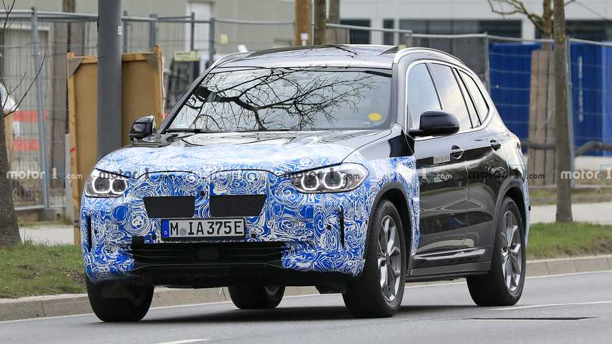 BMW iX3 new spy photos