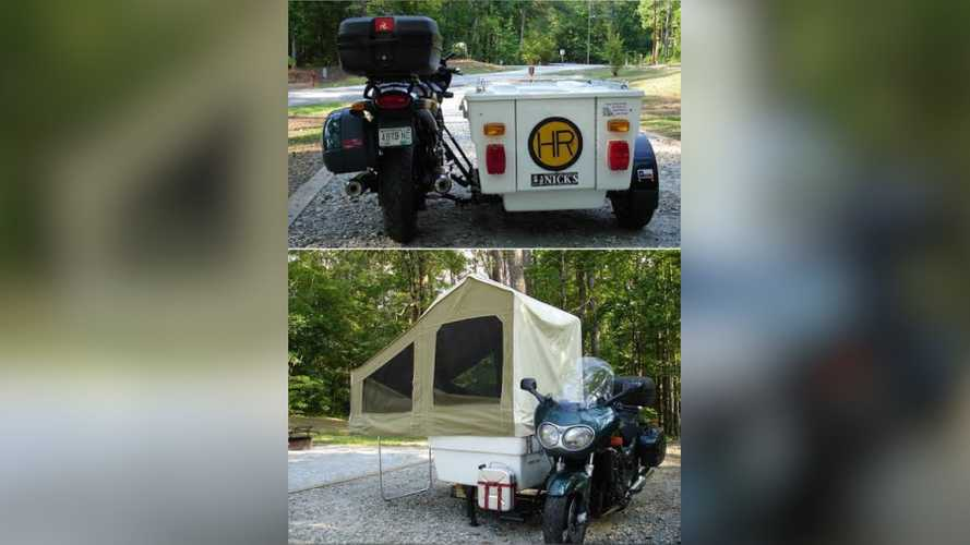 These Motorcycle Campers Make Me Want To Live On My Bike