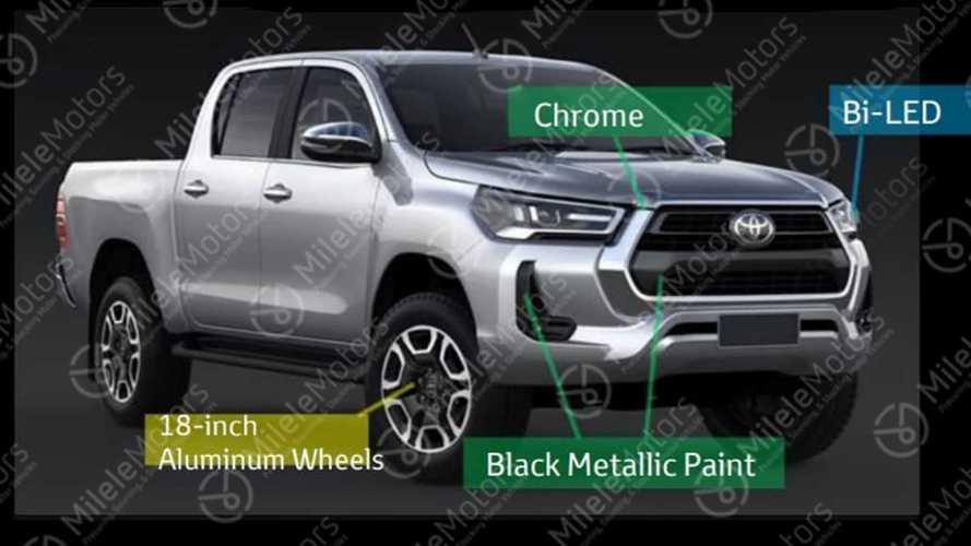 Vazou! Esta é a nova Toyota Hilux 2021 que chega ainda neste ano
