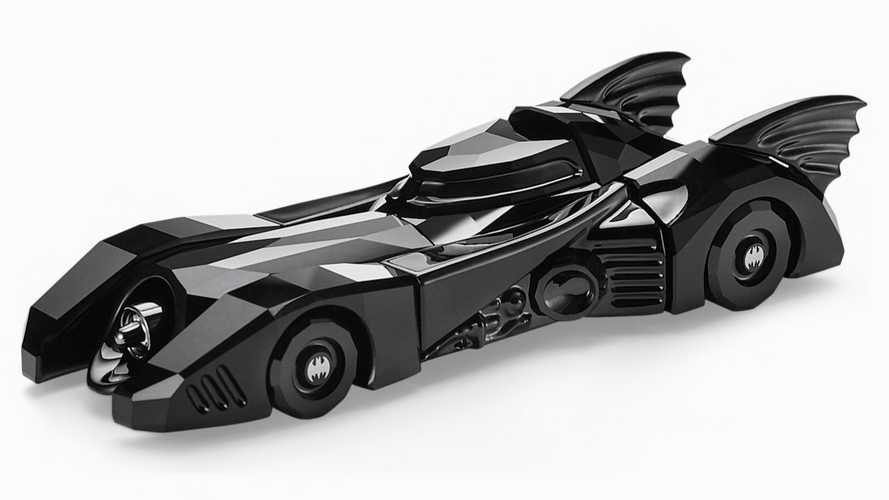 This Swarovski Crystal Batmobile can be yours for £349