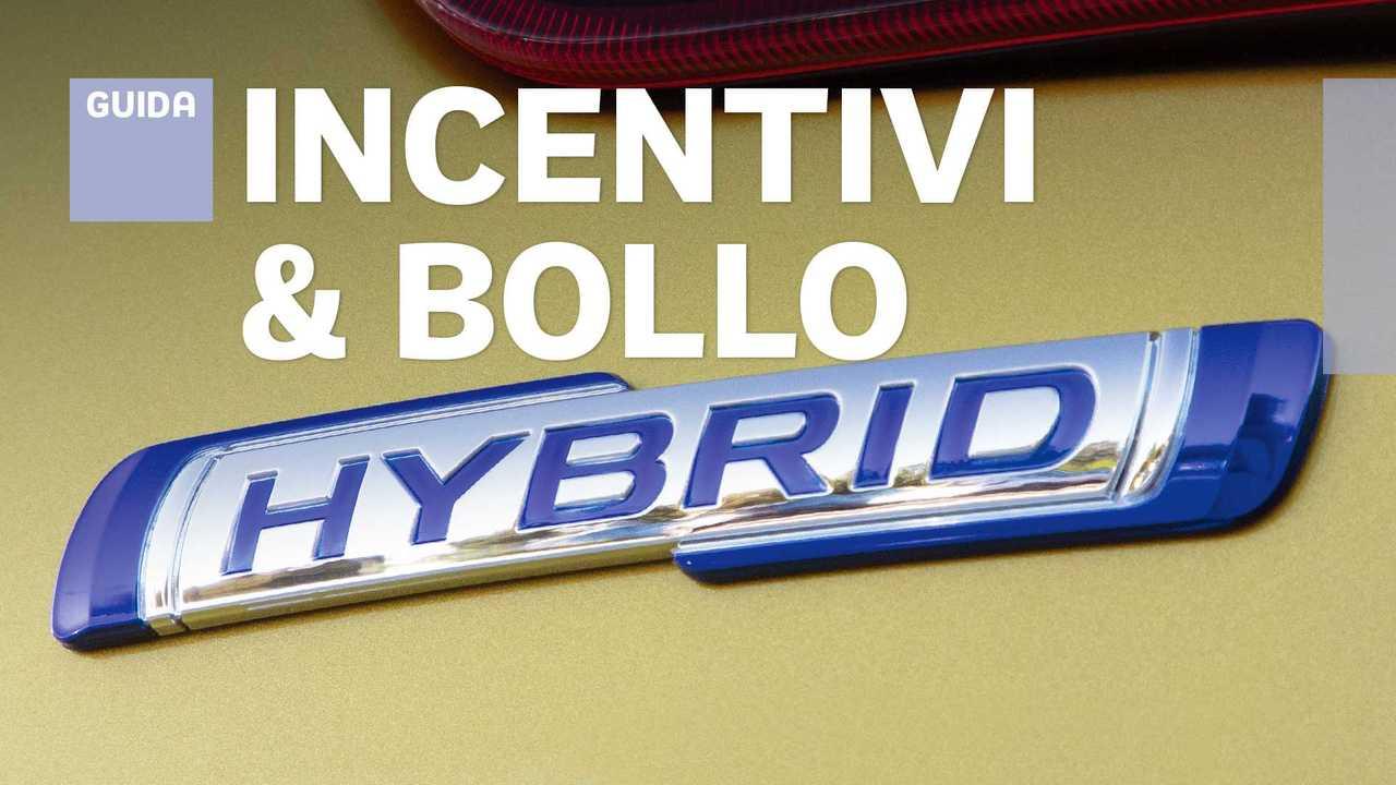 Auto ibride, incentivi regionali ed esenzione bollo
