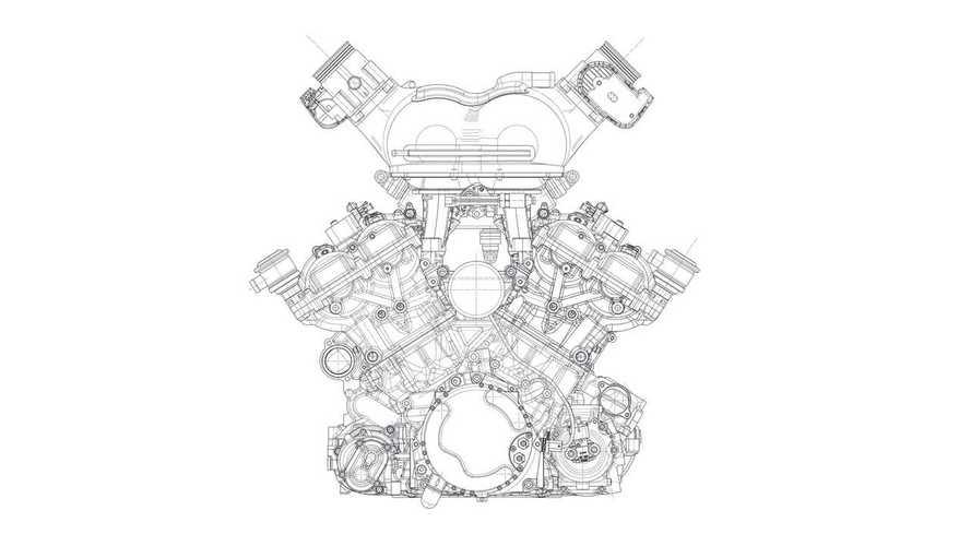 V12 Cosworth del T.50 de Gordon Murray