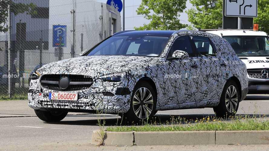 2021 Mercedes C-Class Estate Makes Spy Photo Debut