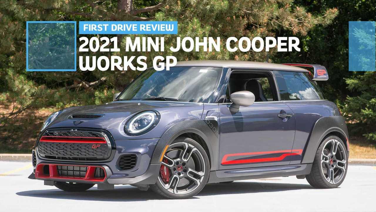 2021 Mini John Cooper Works GP lead