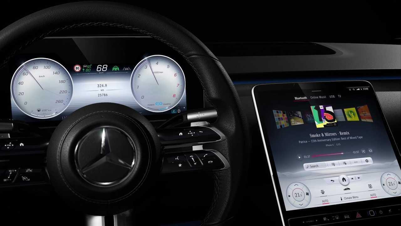 2021 Mercedes Classe S con MBUX