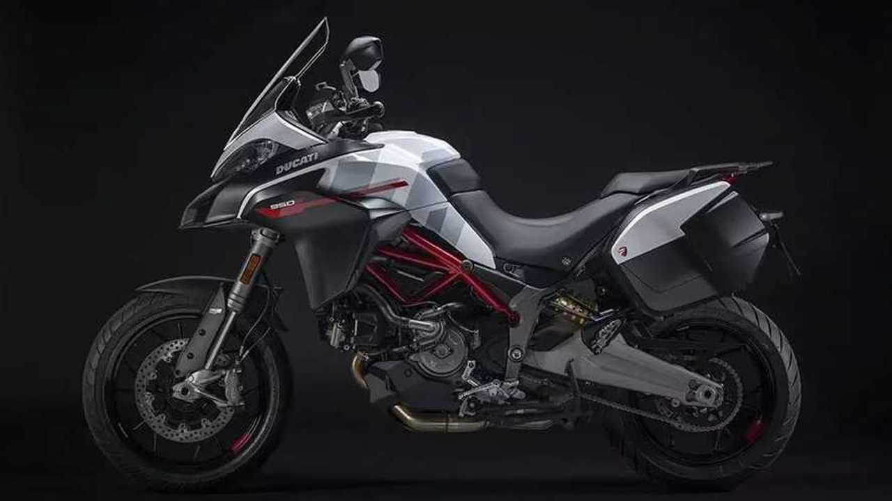 2021 Ducati Multistrada 950 S GP White