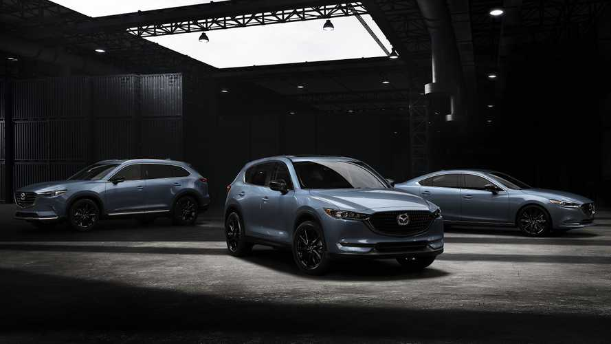 Carbon Edition Of Mazda CX-5, CX-9, and Mazda6 Show Their Darker Style