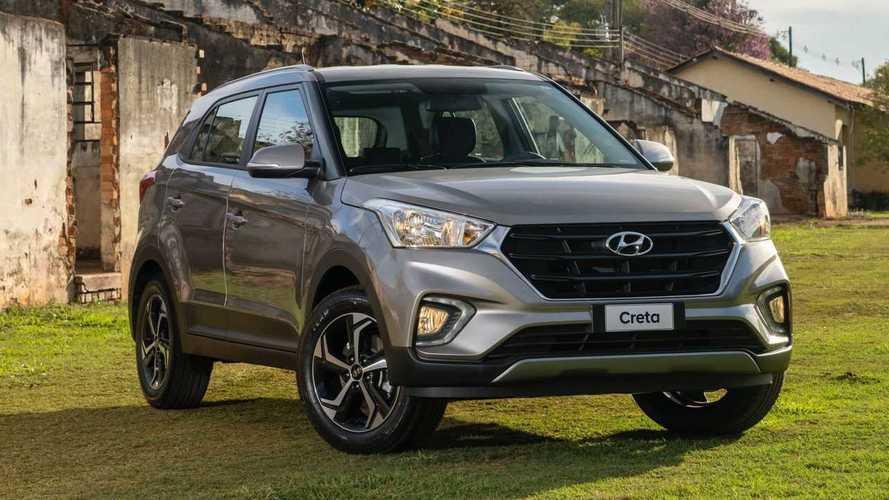HB20 e Creta fazem dobradinha da Hyundai no varejo em setembro