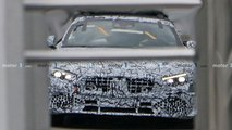 2022 Mercedes SL spy photos