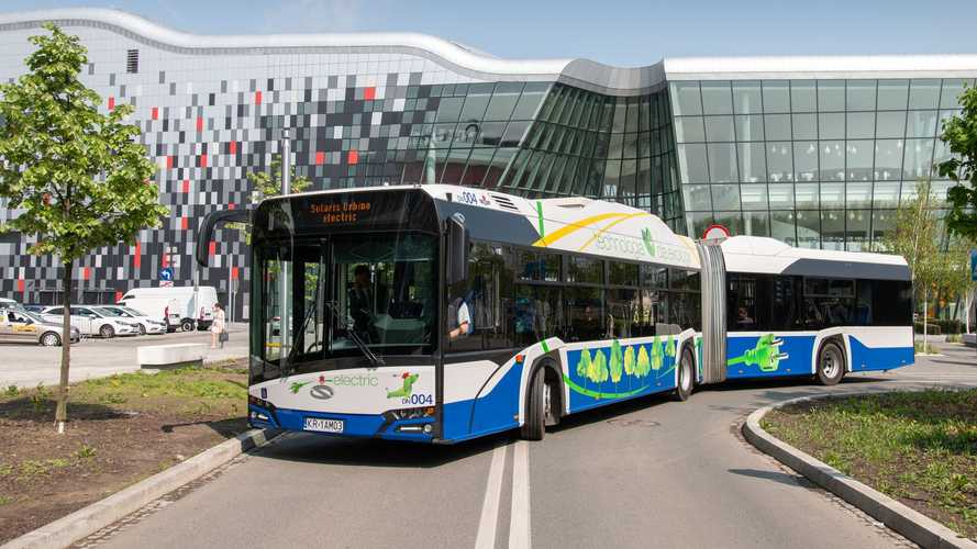 Solaris To Deliver 50 Articulated EV Buses To Cracow, Poland