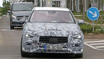 2021 Mercedes C-Class Sedan new spy photos
