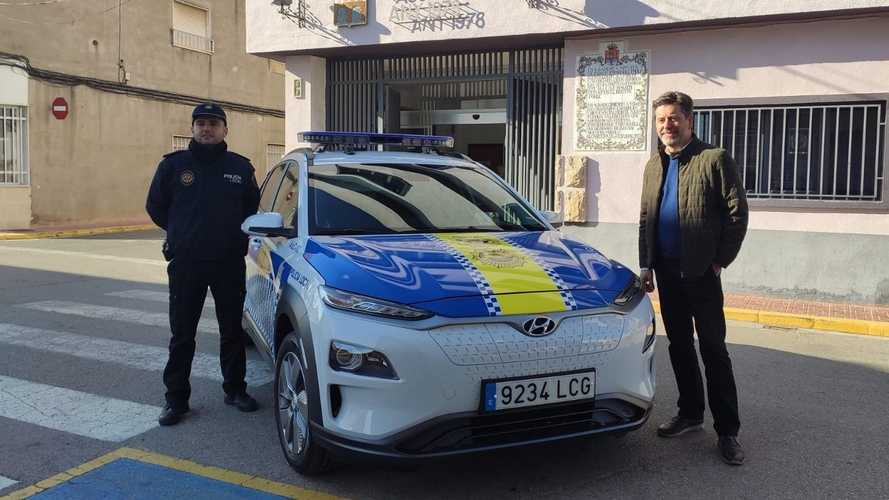 Hyundai Kona Electric And NEXO Aim To Make European Police Forces Greener