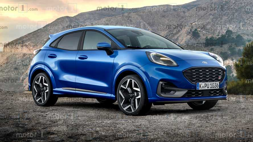 2020 Ford Puma ST render