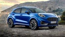 Ford Puma ST 2020 – эксклюзивные рендеры