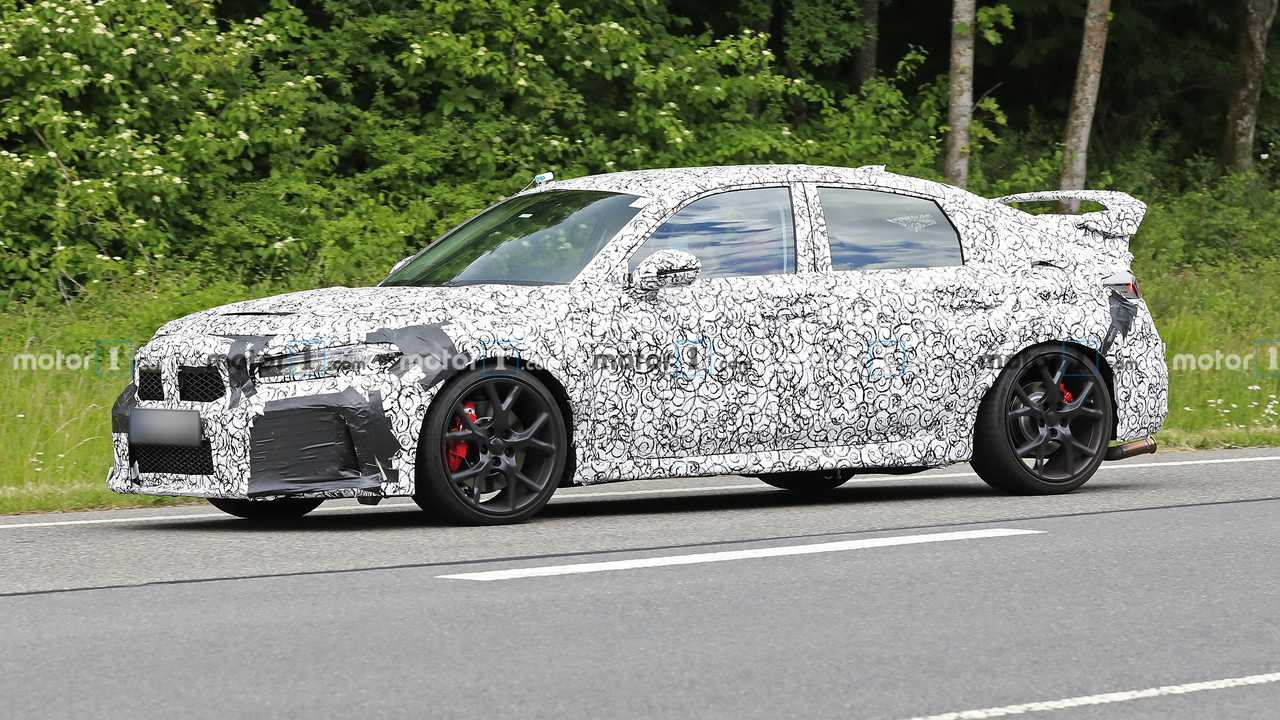 Honda Civic Type R Spy Fotos