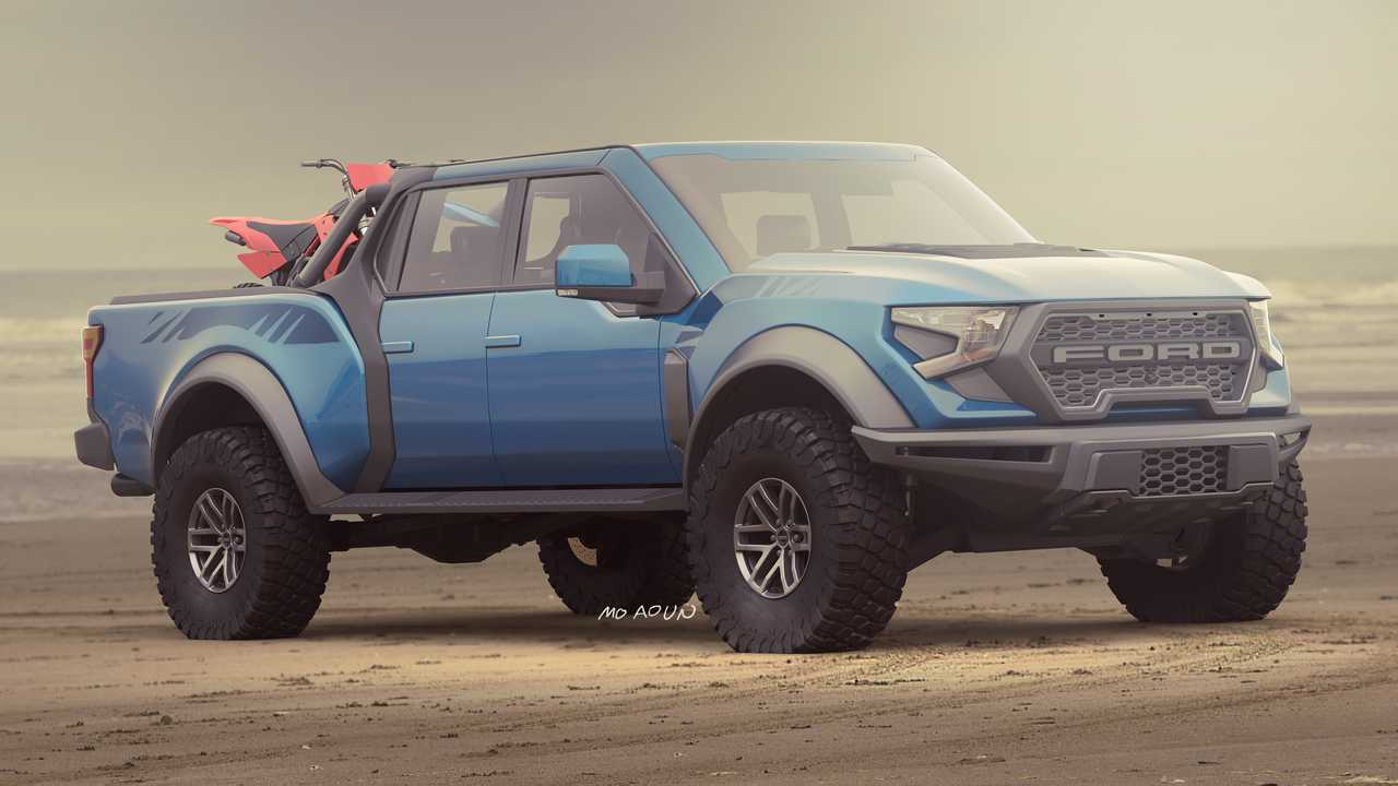 Ford Raptor Rendering